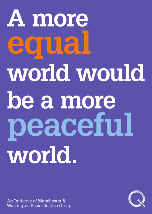 A more equal world would be a more peaceful world